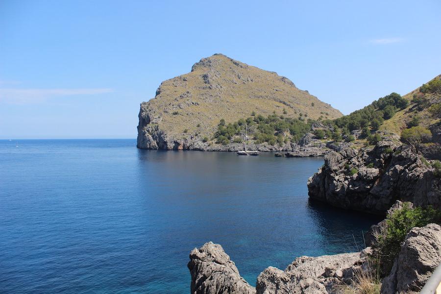 Wanderung Torrent de Pareis - Mallorca - Bucht