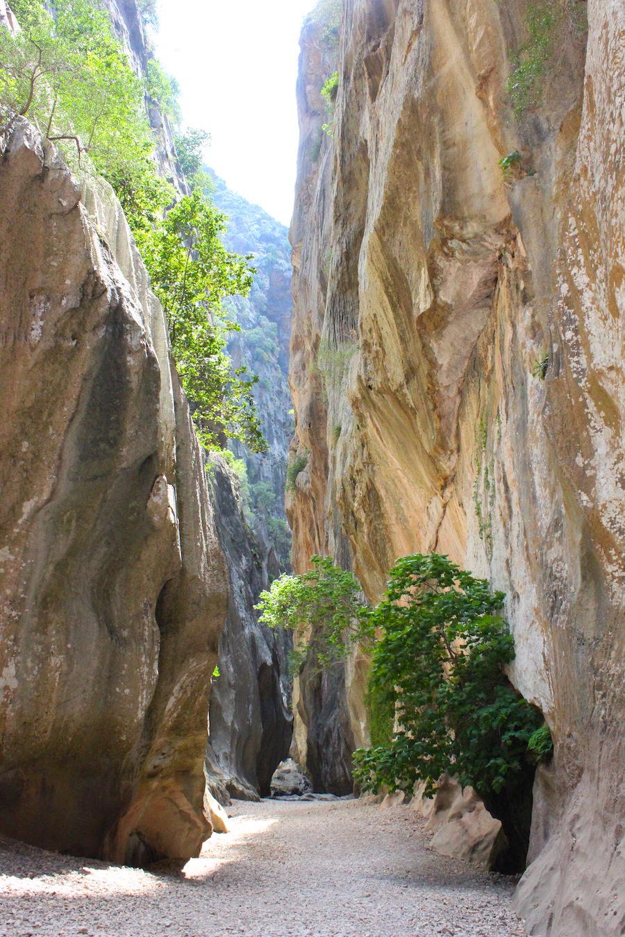 Wanderung Torrent de Pareis - Mallorca - Enger Weg