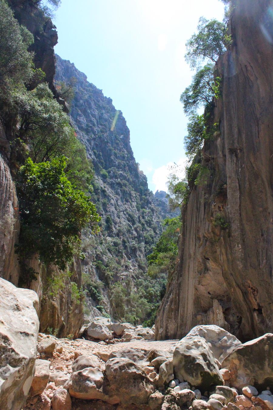 Wanderung Torrent de Pareis - Mallorca - Klettern