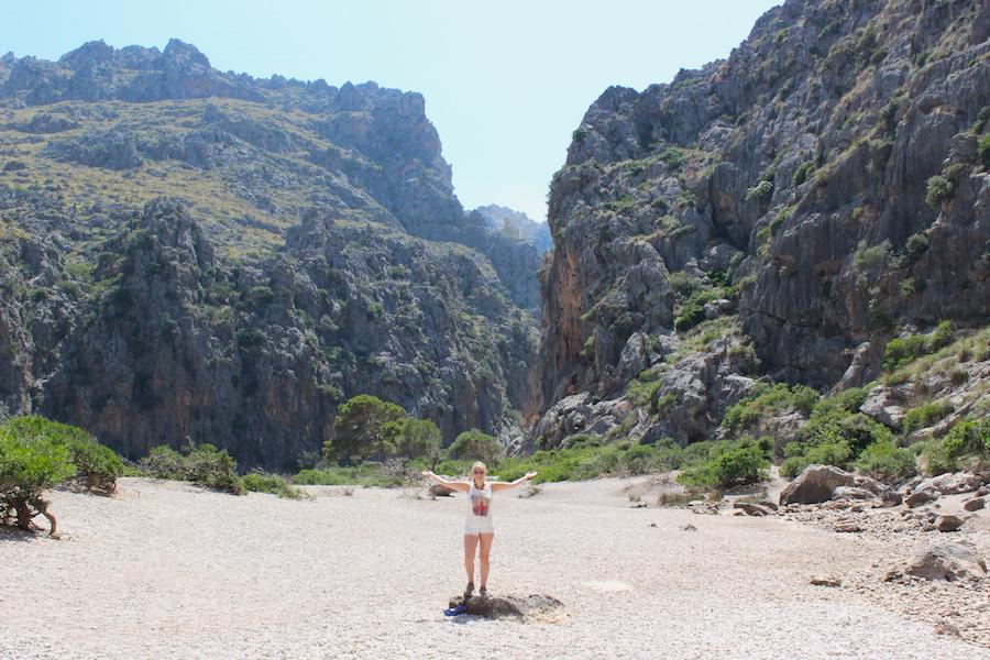 Wanderung Torrent de Pareis - Mallorca - Posing
