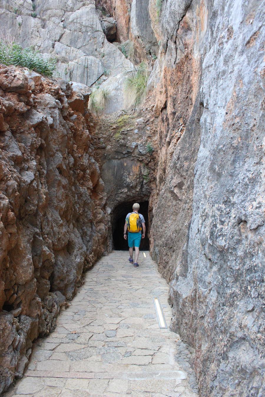 Wanderung Torrent de Pareis - Mallorca - Weg von Sa Calobra zur Bucht