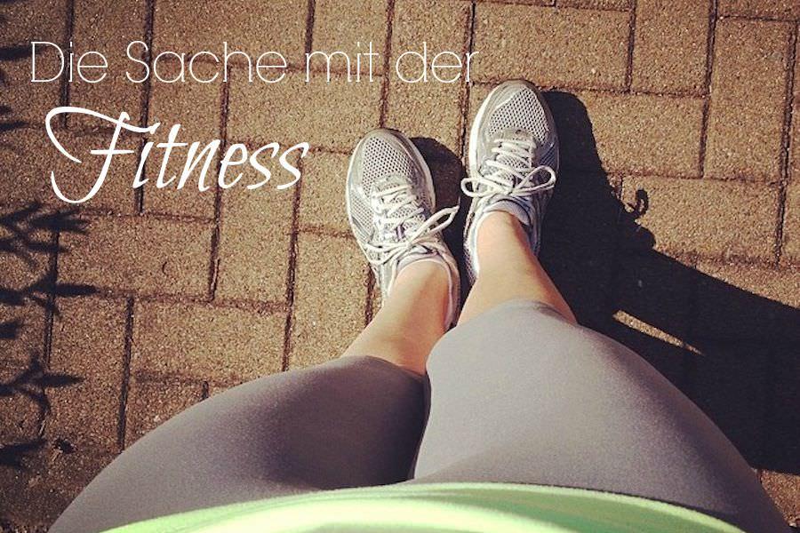 Die Sache mit der Fitness