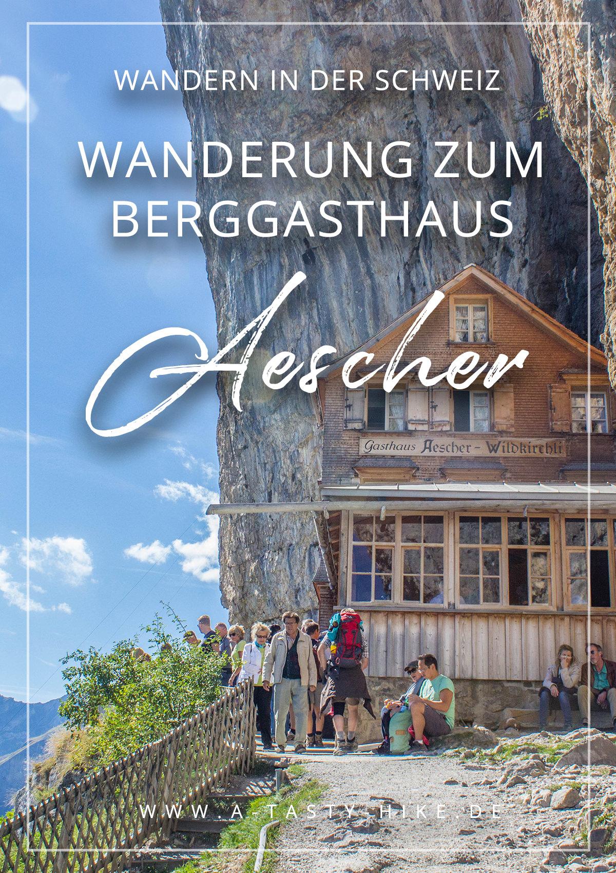 Schweiz wandern - Tolle Wanderung zum Berggasthaus Aescher im Alpstein in der Ostschweiz. Wandern in der Schweiz lohnt sich auf jeden Fall! Diese Tour ist mit 700 Höhenmeter nur etwas für fitte Wanderanfänger. Genusswanderer kommen voll auf ihre Kosten! #Wandern #Wanderung #Schweiz