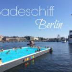 Schiff Ahoi auf dem Badeschiff Berlin