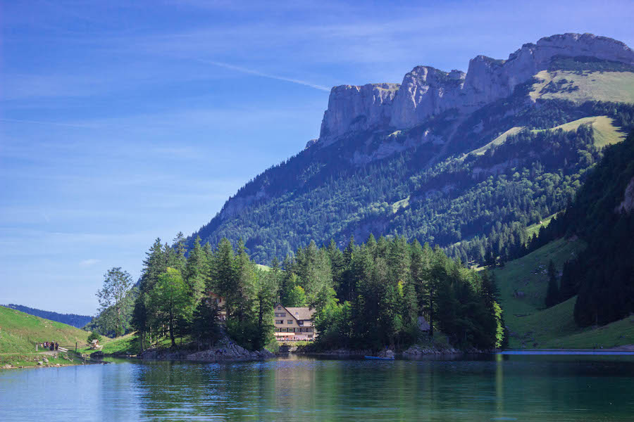 Wanderung Schweizer Alpen - Aescher Alpsee