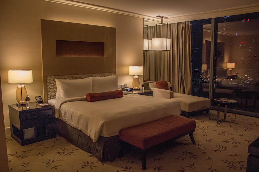 Marina Bay Sands Hotel Singapur Suite