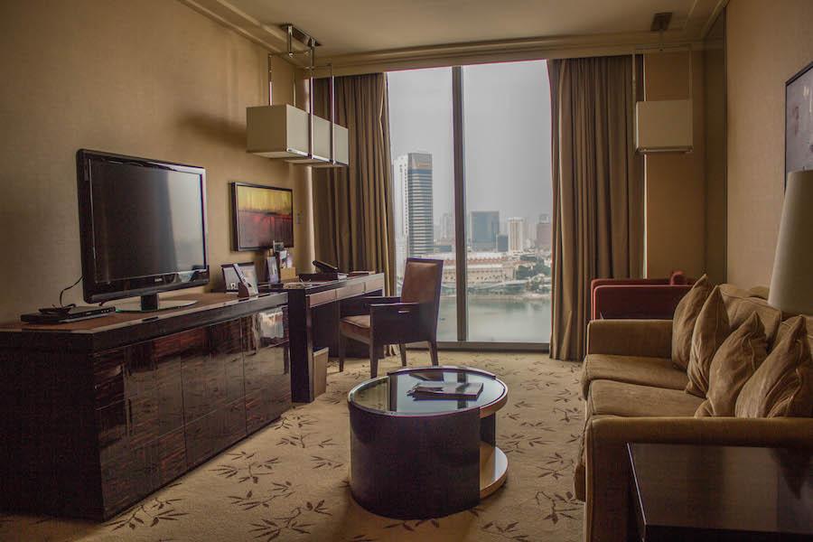 Marina Bay Sands Hotel Singapur Zimmer