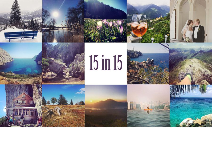 15 in 15 - unser Reisejahr 2015