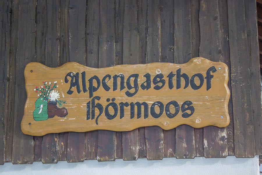 Hoch Haederich Wanderung - Alpe Hoermoos