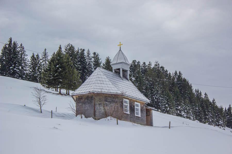 Hoch Haederich Wanderung - Kapelle