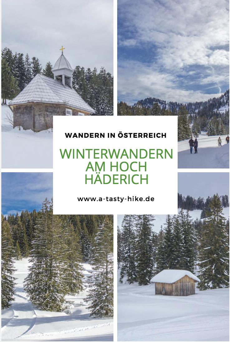 Winterwandern für Anfänger – Eine Einsteigertour am Hoch Häderich