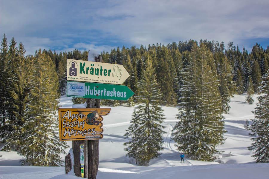 Hoch Haederich Wanderung - Schilder Kraeuter