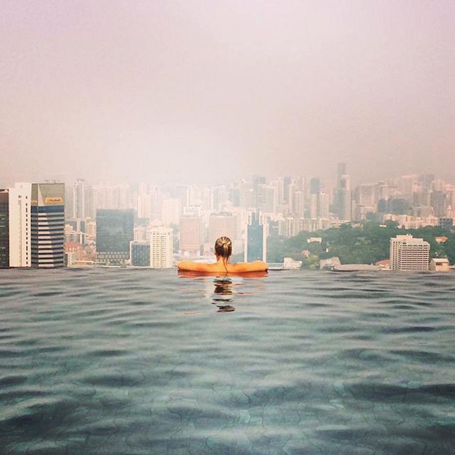 Singapur Marina Bay Sands November