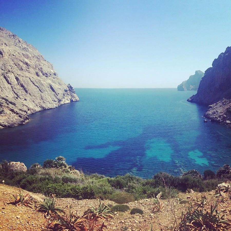 Wanderung Cala Bóquer Mallorca Juni