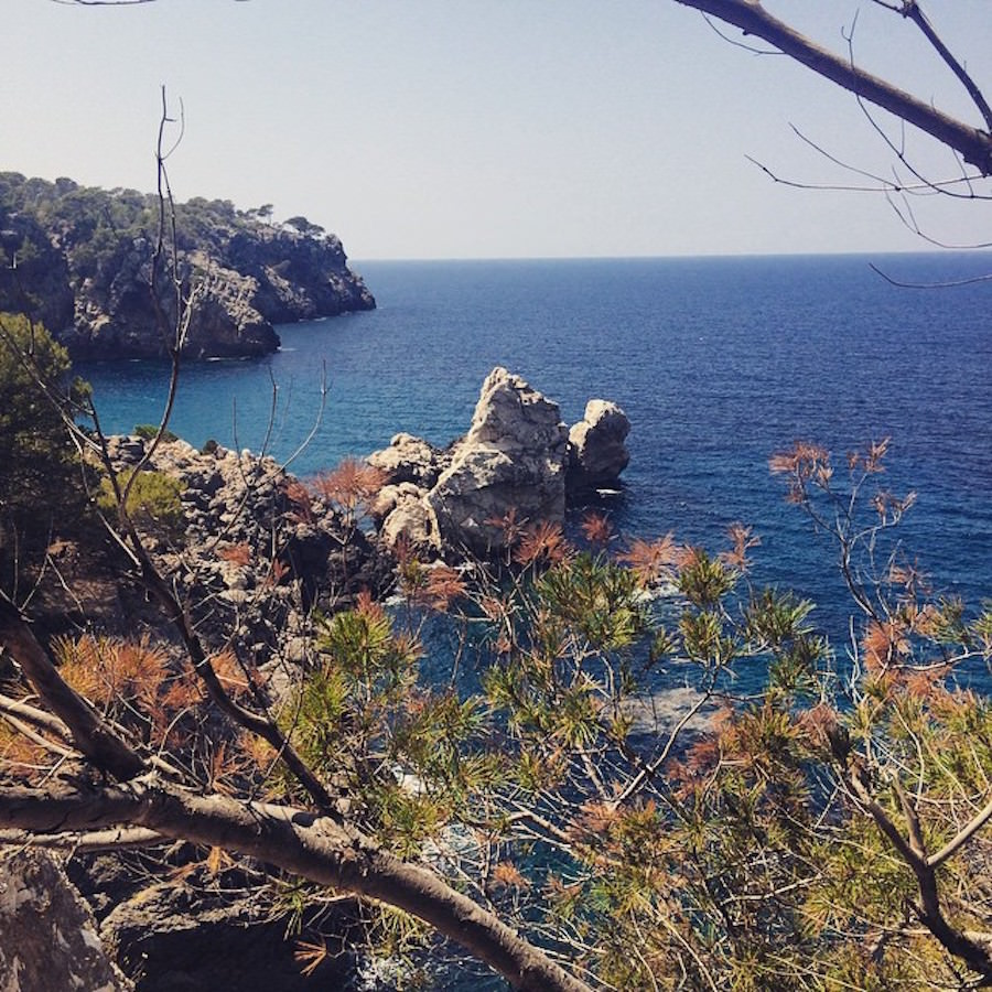 Wanderung Cala Deía Mallorca Juni