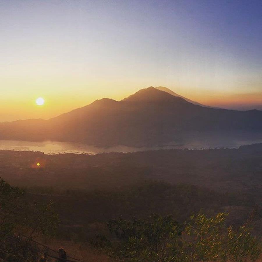 Wanderung Mount Batur Bali Oktober