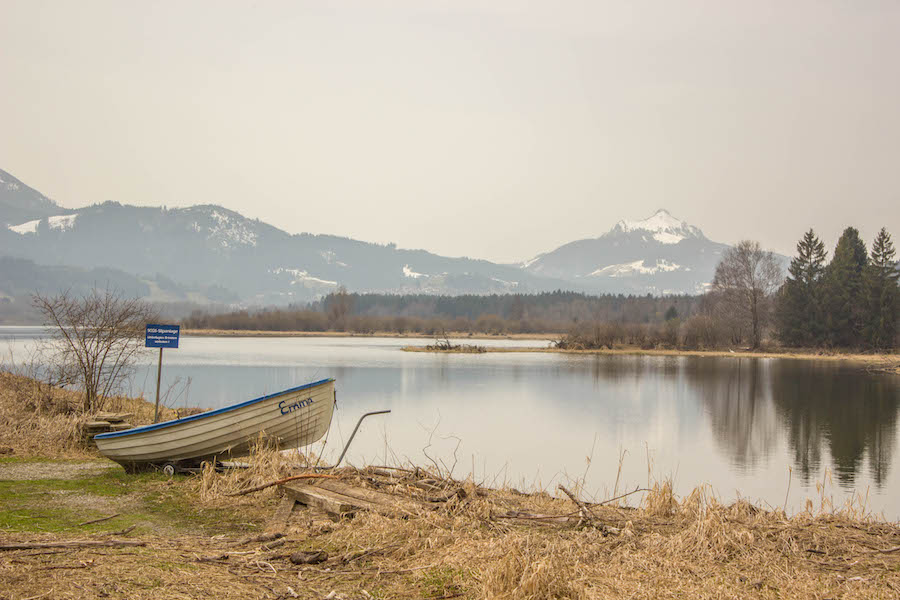A Tasty Hike - Wandern am Gruentensee - Boot 1