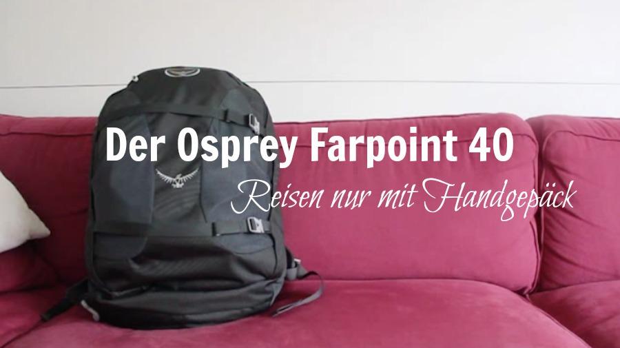 Osprey Farpoint 40 - Titel