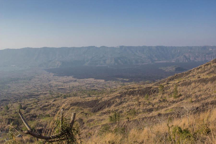 Wanderung Gunung Batur auf Bali - Caldera 3