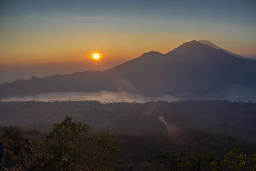 Wanderung Gunung Batur auf Bali - Sonnenaufgang