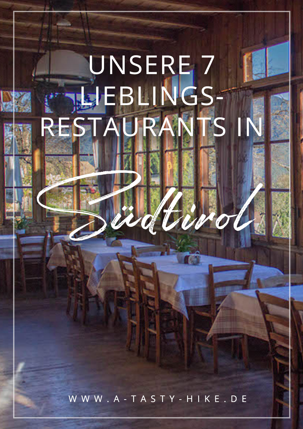 Italienische und Südtiroler Küche in besonderem Ambiente – Unsere Lieblings-Restaurants in Südtirol