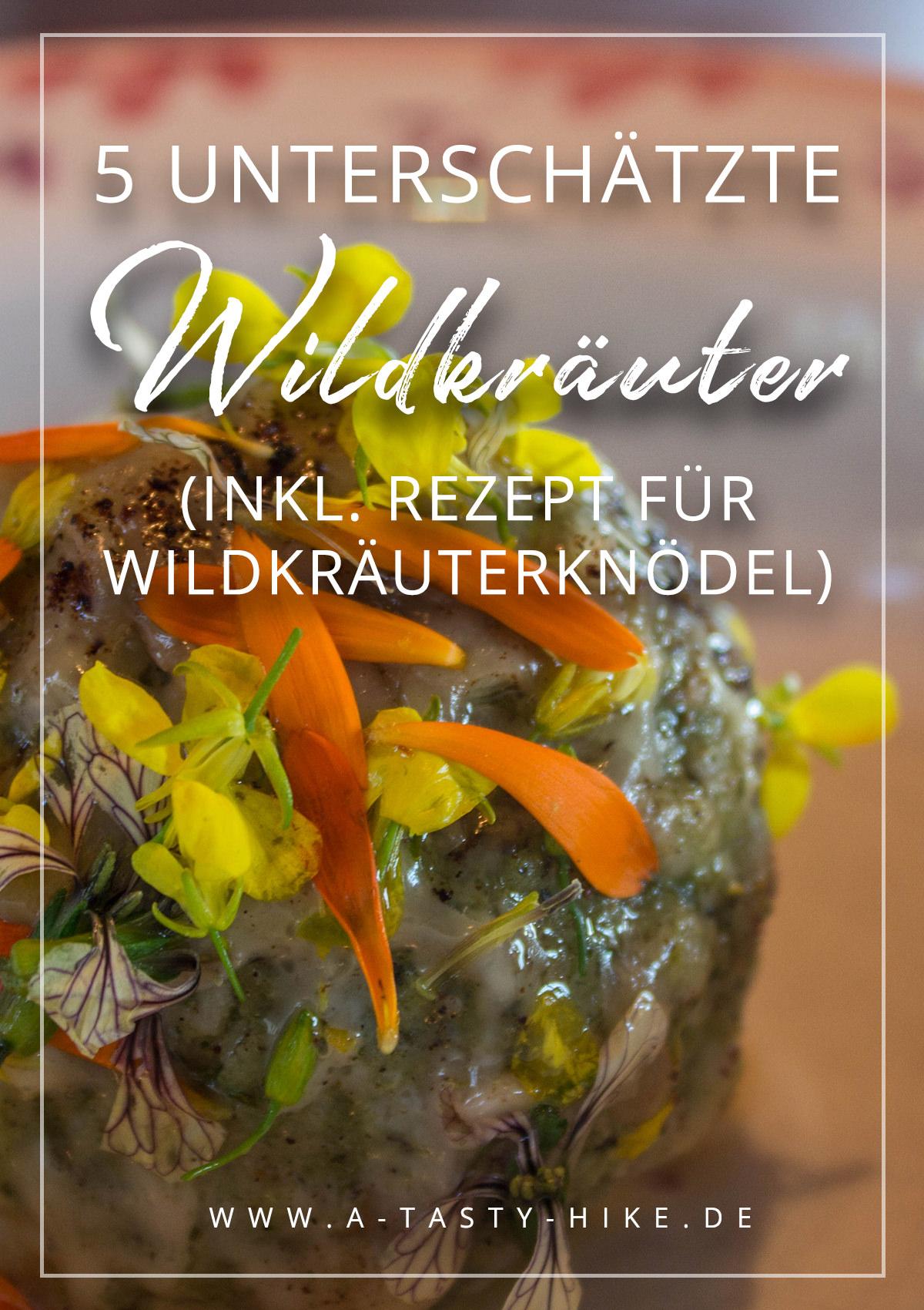 Wildkräuter - so oft wird ihre Wirkung komplett unterschätzt! Dabei können sie so viel und sind in der Küche super vielseitig einsetzbar! In Südtirol haben wir einen Wildkräuter-Kochkurs gemacht und alles über die Wirkungsweisen der Wildkräuter gelernt. Dazu haben wir ein Rezept für Wildkräuterknödel kennengelernt, das wir euch natürlich nicht vorenthalten möchten. #Wildkräuter #Rezept #Wildkräuterknödel