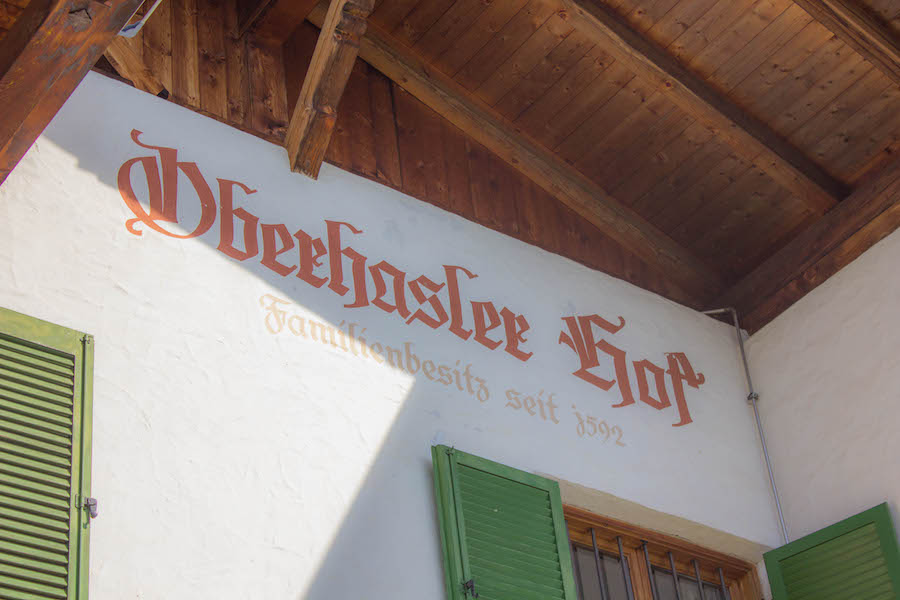 Suedtirol Schenna - Wildkraeuter Knoedel Kochkurs - Oberhasler Hof Haus