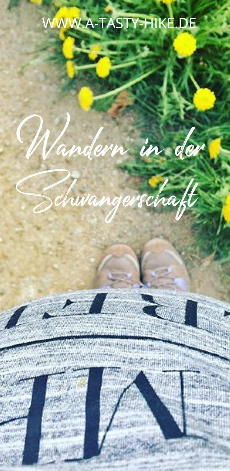 Wandern in der Schwangerschaft