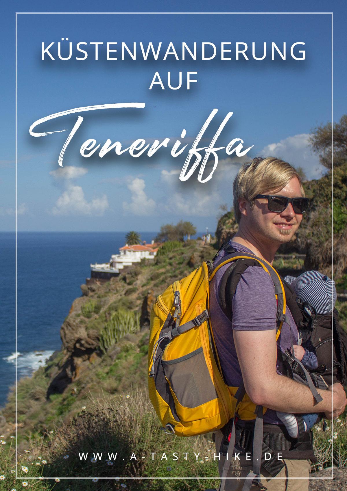 Wandern auf Teneriffa - Bei dieser Wanderung auf Teneriffa wanderst du um den Vulkan Garachico und erlebst ein atemberaubendes Naturschauspiel. Solche Landschaften bekommst du wirklich nur sehr selten zu sehen! #Teneriffa #WandernaufTeneriffa #WandernTeneriffa #Garachico #Vulkan