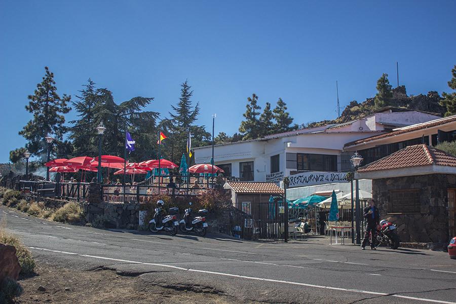 Wanderung Teneriffa - Hochebene - El Teide - Einkehrmoeglichkeit