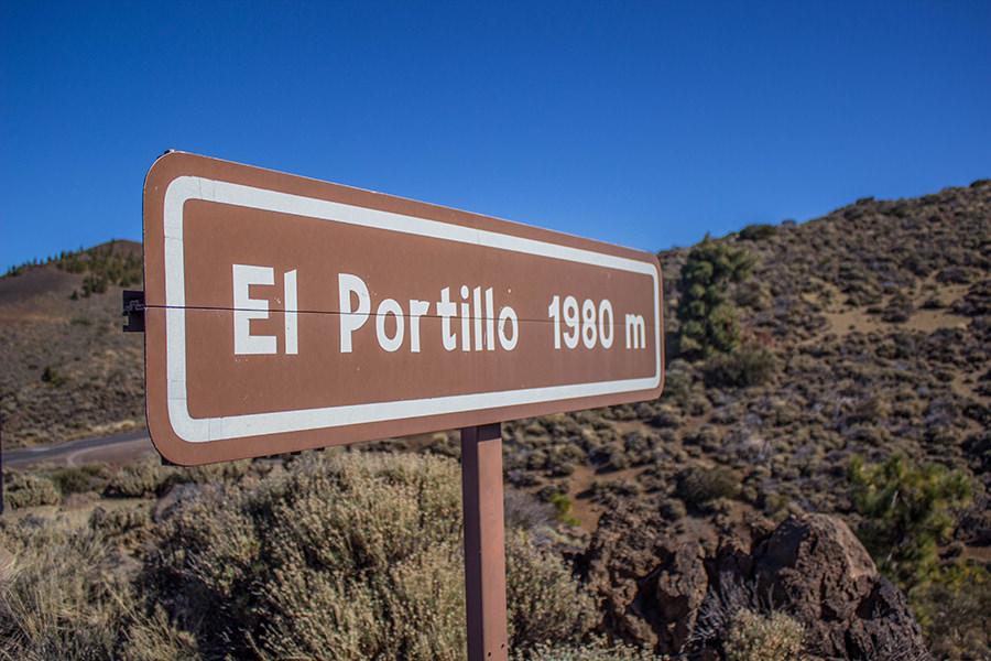 Wanderung Teneriffa - Hochebene - El Teide - El Portillo