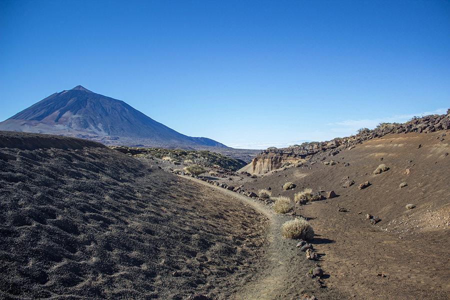 Wanderung Teneriffa - Hochebene - El Teide - Lavasand