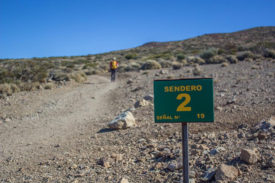 Wanderung Teneriffa - Hochebene - El Teide - Wanderweg 2