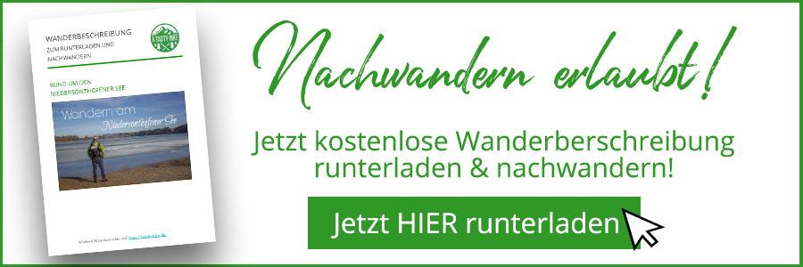Niedersonthofener See Wanderbeschreibung Banner