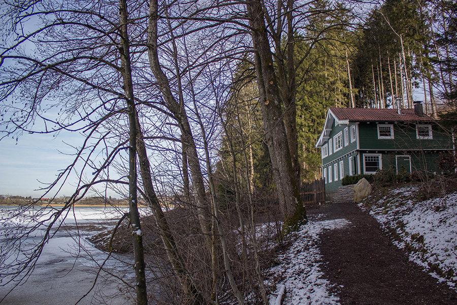 Wanderung Niedersonthofener See - Haus am See