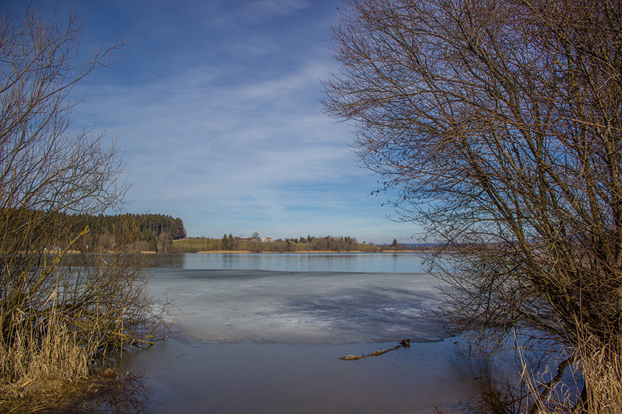 Wanderung Niedersonthofener See - See