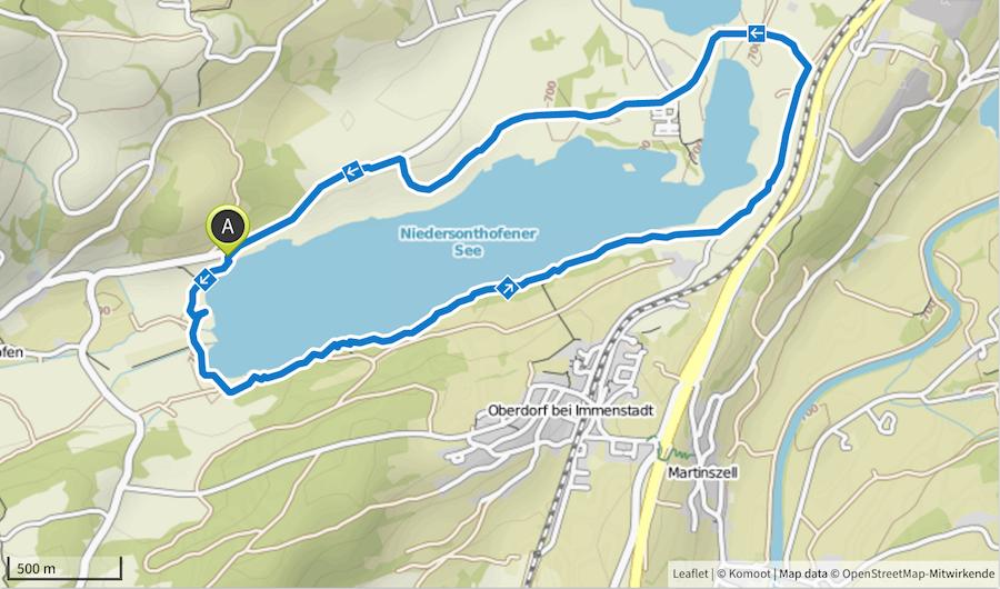 Wanderung Niedersonthofer See