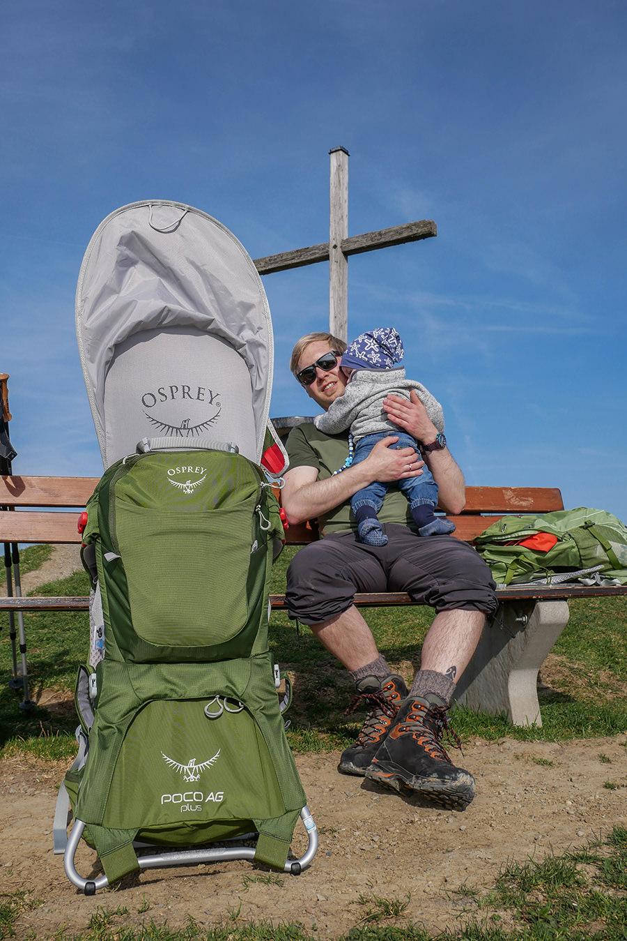 Wandern am Huendle - Gipfelkreuz
