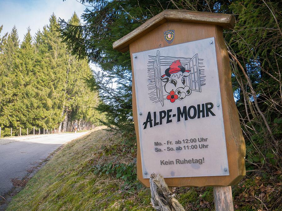 Wandern in Oberstaufen - Wanderung Kalzhofener Hoehe - Alpe Mohr