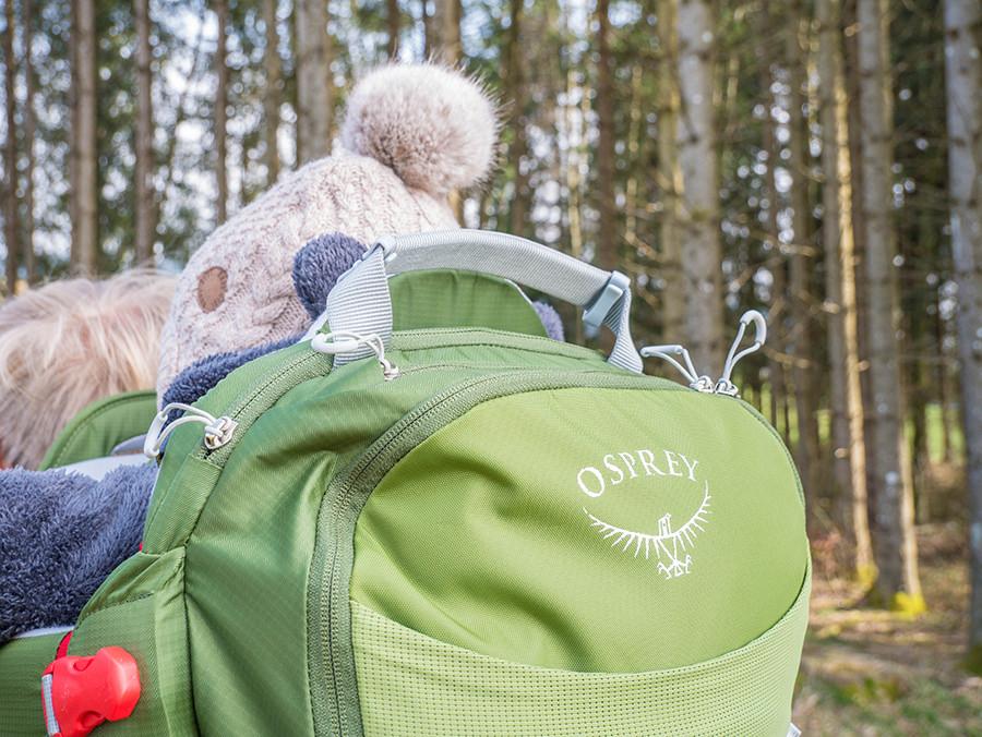 Wandern in Oberstaufen - Wanderung Kalzhofener Hoehe - Osprey Poco AG Plus