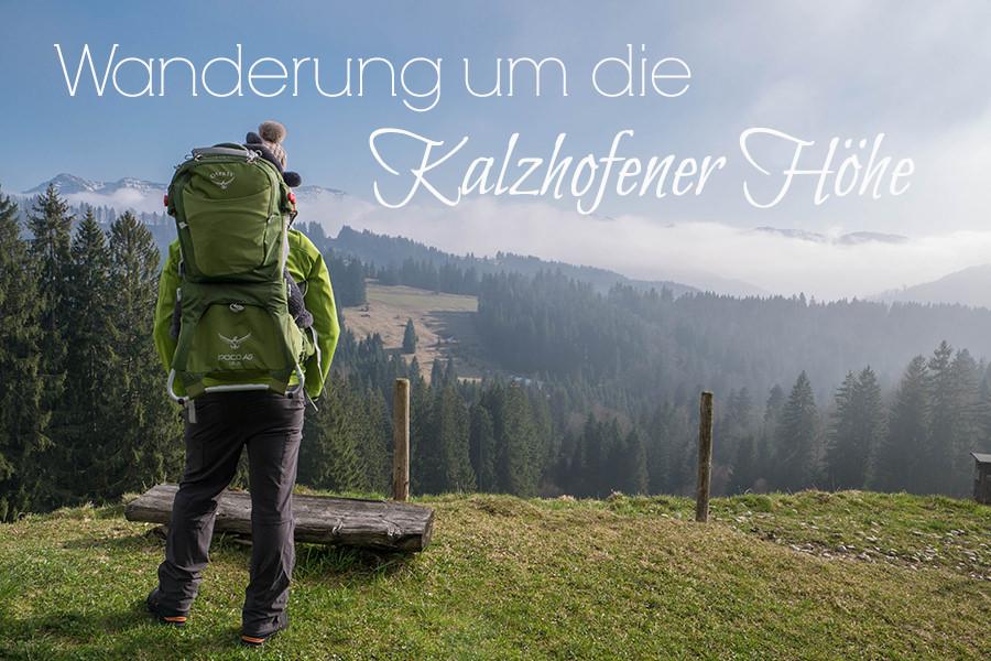 Wandern in Oberstaufen - Wanderung Kalzhofener Hoehe - Titel