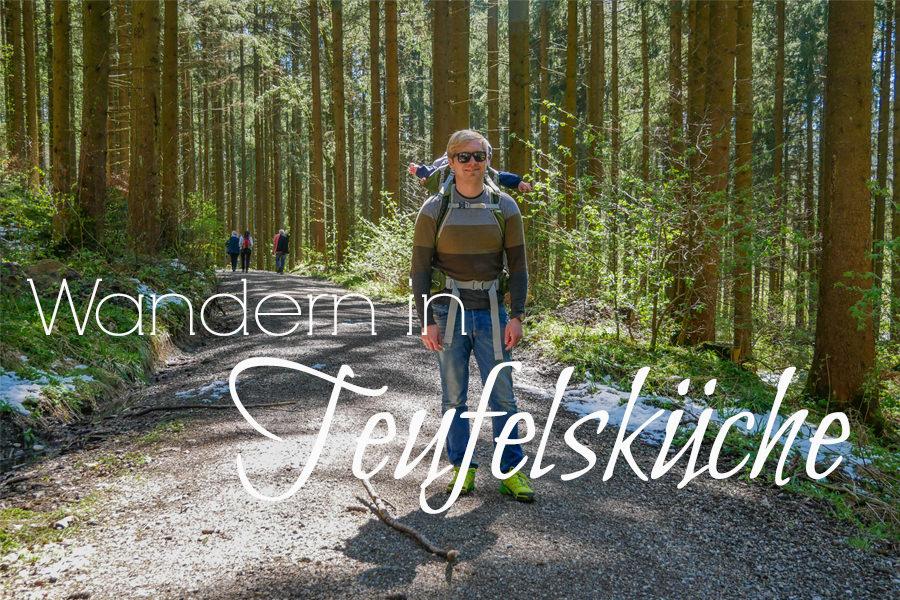 Wandern in Teufelskueche bei Oberguenzburg Titel