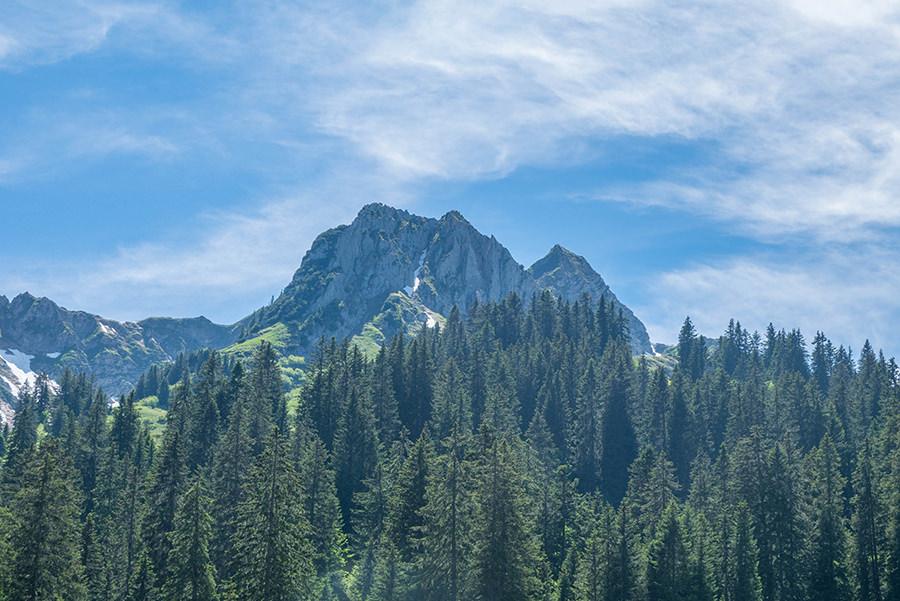 Wanderung im Baergunttal - Heiterblick