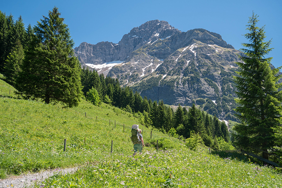 Wanderung im Baergunttal - Wandern