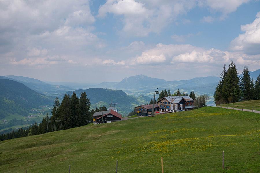 Wanderung Soellereck bei Oberstdorf - Deutsche Alpen