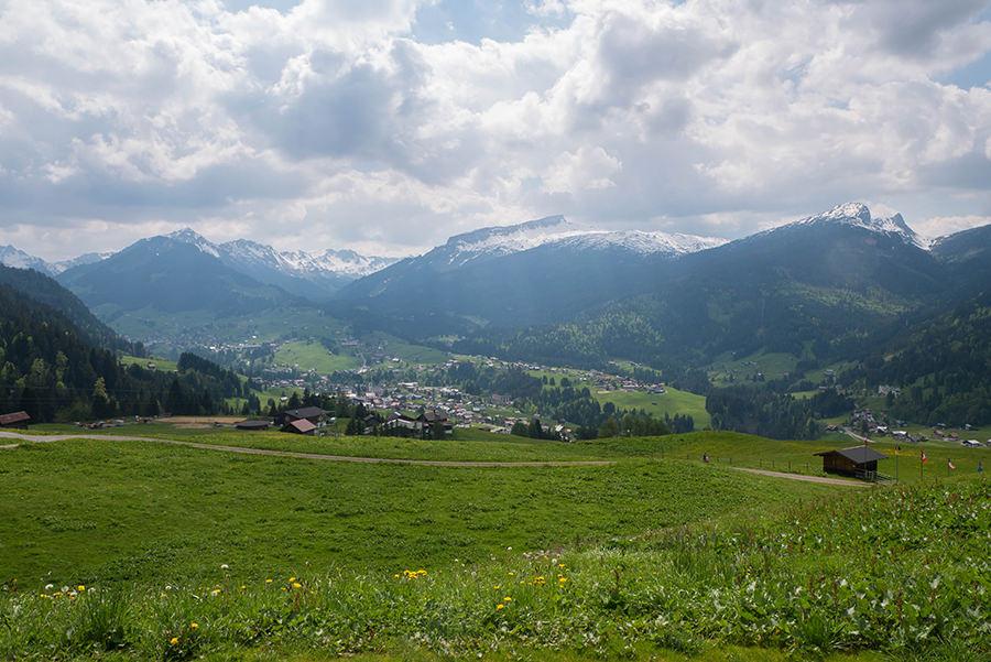Wanderung Soellereck bei Oberstdorf - Kleinwalsertal