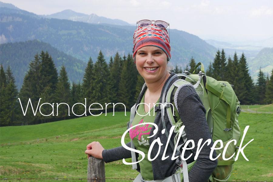 Wanderung Soellereck bei Oberstdorf - Titel