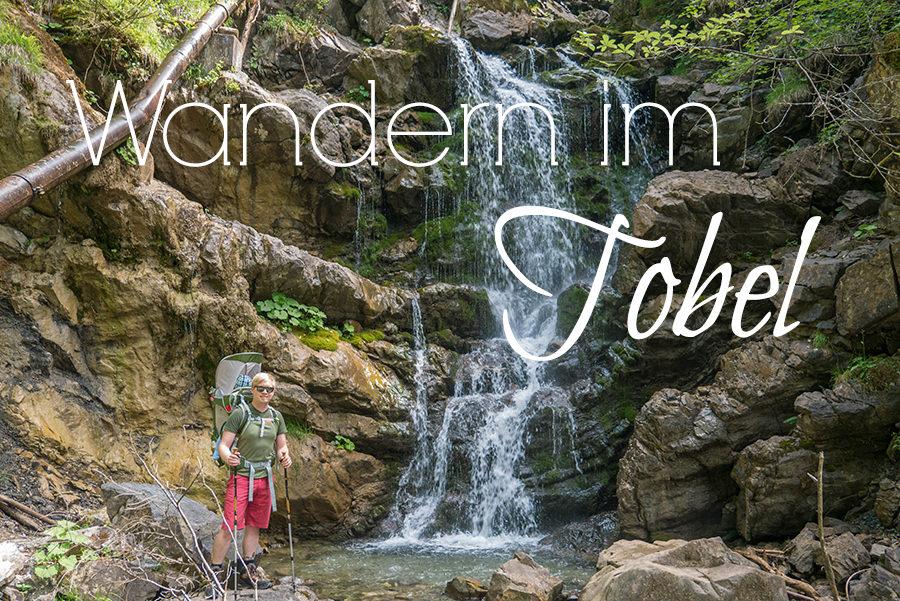 Wandern im Tobel bei Oberstdorf - Titel