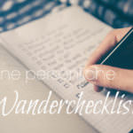 Deine persönliche Wandercheckliste zum kostenlosen Download