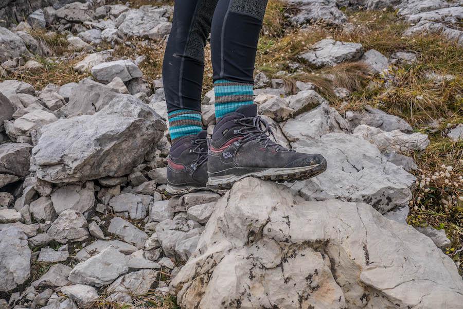 Wanderschuhe - Worauf achten - Wanderschuhe Beratung A Tasty Hike - Wanderschuhe im Gelaende